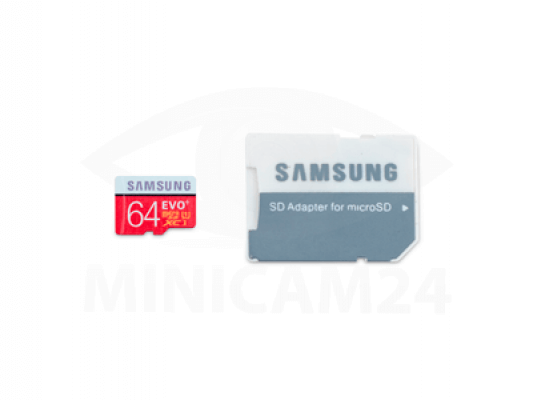 Карта памяти Samsung microSD EVO Plus 80MB/S 64GB + SD adapter-2