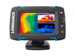 Эхолот Lowrance Elite-5Ti Mid/High/DownScan