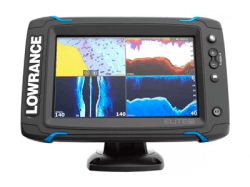 Эхолот Lowrance Elite -7Ti Mid/High/TotalScan
